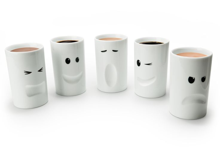 Mood Mugs are a range of insulated porcelain mugs with quirky facial expressions designed to reflect your mood. The perfect collection for your dining table