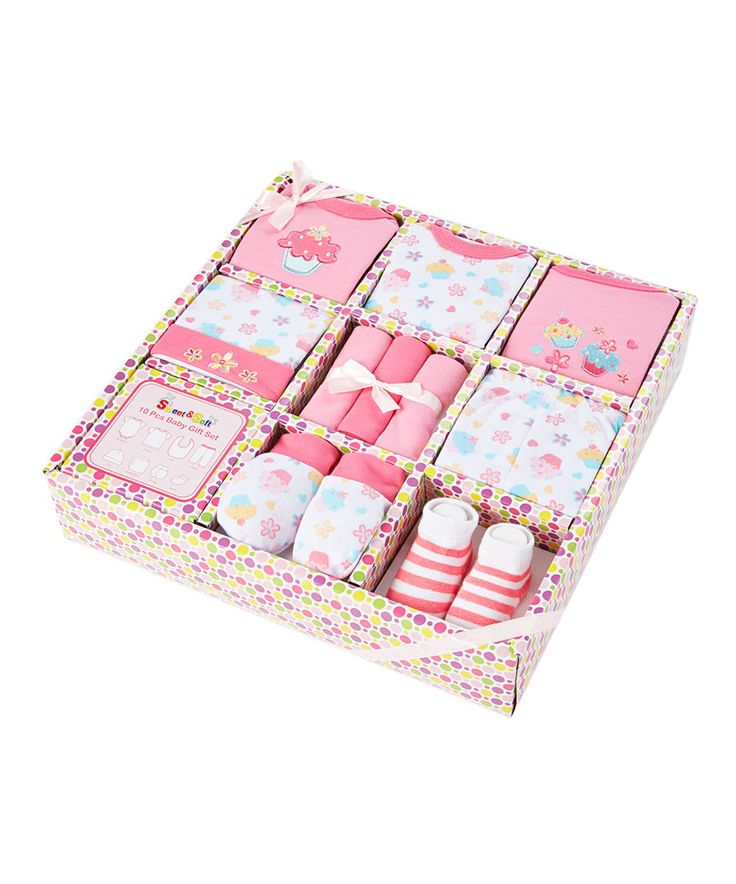 Sweet & Soft Pink & Yellow Baby Layette Set - Infant by Sweet & Soft #zulily #zulilyfinds