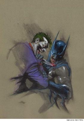 The Joker Vs Batman