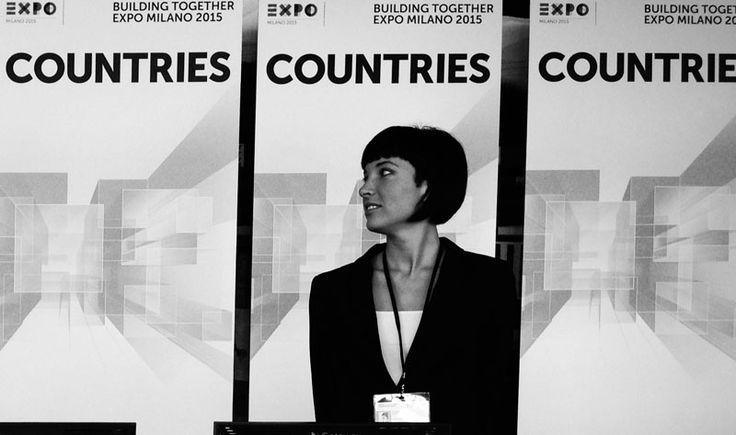 Viola Cateni Hostess lingua russa per Expo di Milano 2015