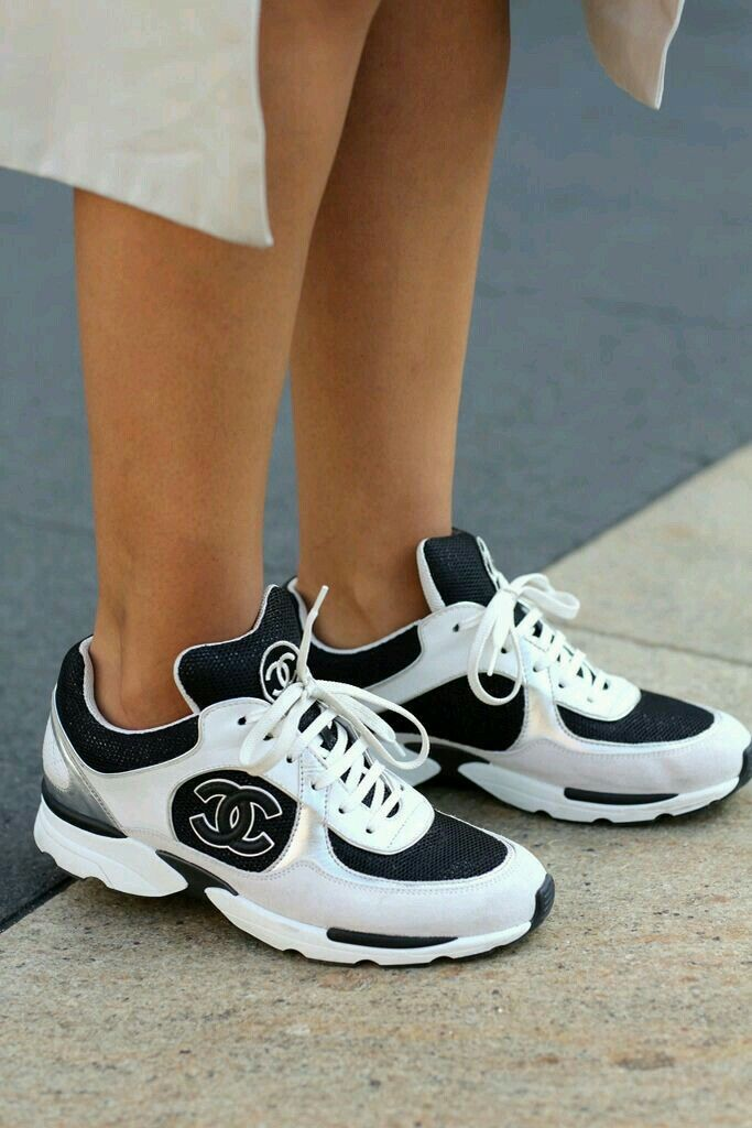 Chanel Tennis Shoes ideas about <b>chanel sneakers</b> on…