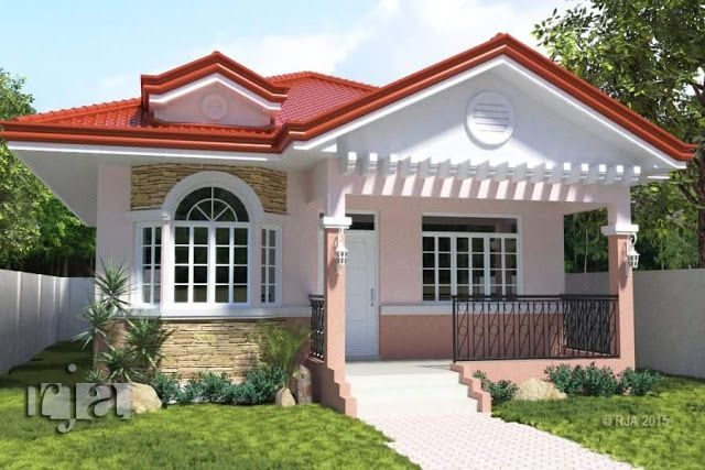20 small beautiful bungalow house design ideas ideal for for Living room designs for small houses philippines
