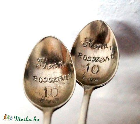 Feliratos kanál  #feliratos #kanál  #egyedi #individual #ajándék #present #gift #spoon #meska