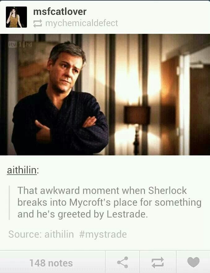 """I'M DYING LAUGHING RIGHT KNOW. COULD YOU IMAGINE EVERYONE'S FACES???? MYCROFT AND LESTRADE WOULD BE LIKE, """"YEAH, UM, THAT'S RIGHT!!"""" AND SHERLOCK WOULD BE SCARRED FOR LIFE....LOL....XD"""