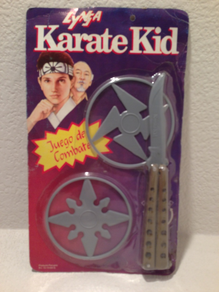Karate Kid Butterfly Knife 1987 Peru Version Butterfly