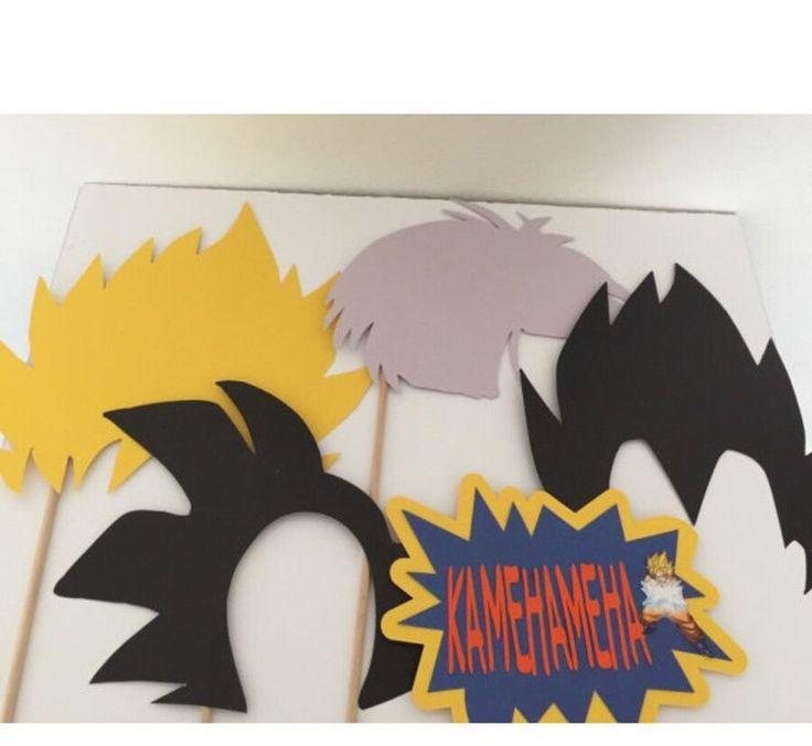 Dragon Ball Z de Photo Booth Prop Set in Casa y jardín, Tarjetas y suministros para fiestas, Suministros para fiestas | eBay