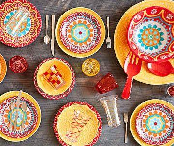 Outdoor Dinnerware   Big Lots