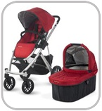 Stroller #toptenbabyessentials  A stroller is usually the hardest decision most people make as they are very lifestyle specific, much like buying a car. A person who needs a SUV would be miserable with a hatchback and if you have no space a large minivan just won't work.