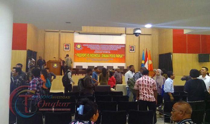 Seminar Masalah Freeport Dan Papua di Kampus UKI Ricuh