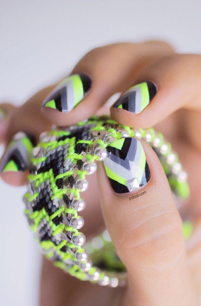 Cool neon combination