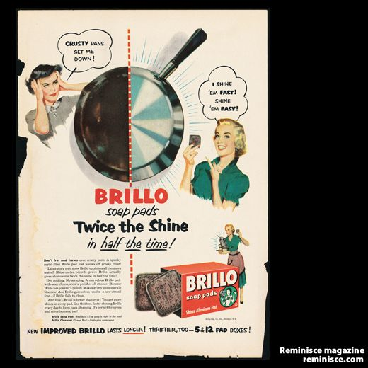 Brillo soap pads, 1950