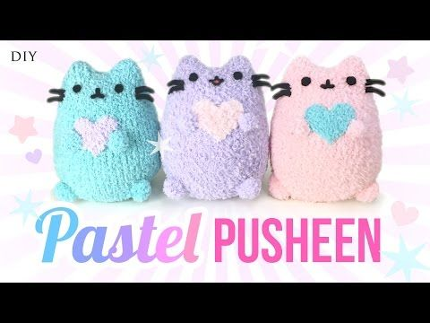 DIY Pusheen Cat Plush - Make Adorable Budget Plushies Using SOCKS!!, My Crafts and DIY Projects