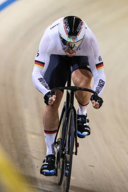 Maximilian Levy of Germany competes in Men`s sprint qualifying during the  UCI Track Cycling World Championships in Apeldoorn on March 2 2018 d98ac8604