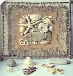 Haz un cuadro marinero con recuerdos de la playa ~ Solountip.com