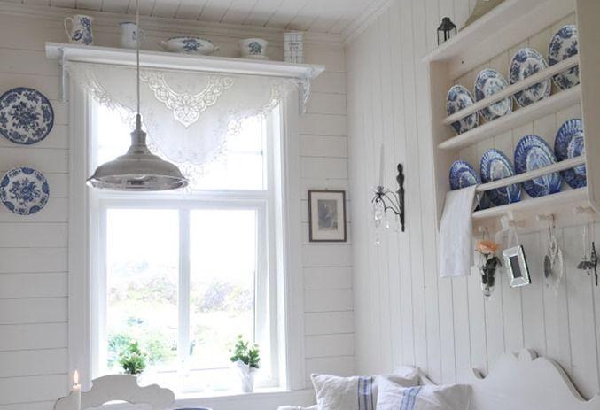 Swedish style cottage decor