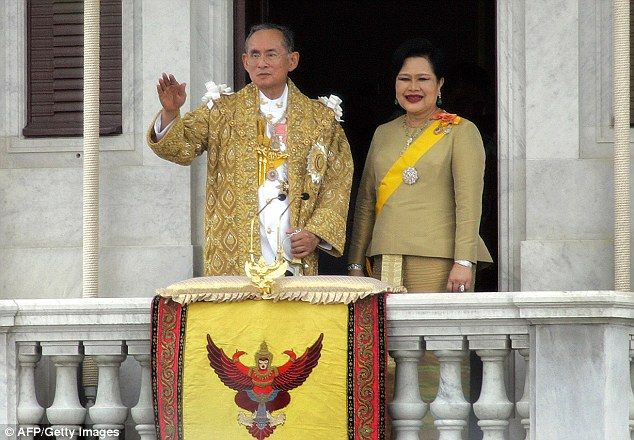 The world's longest reigning monarch Thailand's King Bhumibol Adulyadej, pictured, has died aged 88, it has been confirmed