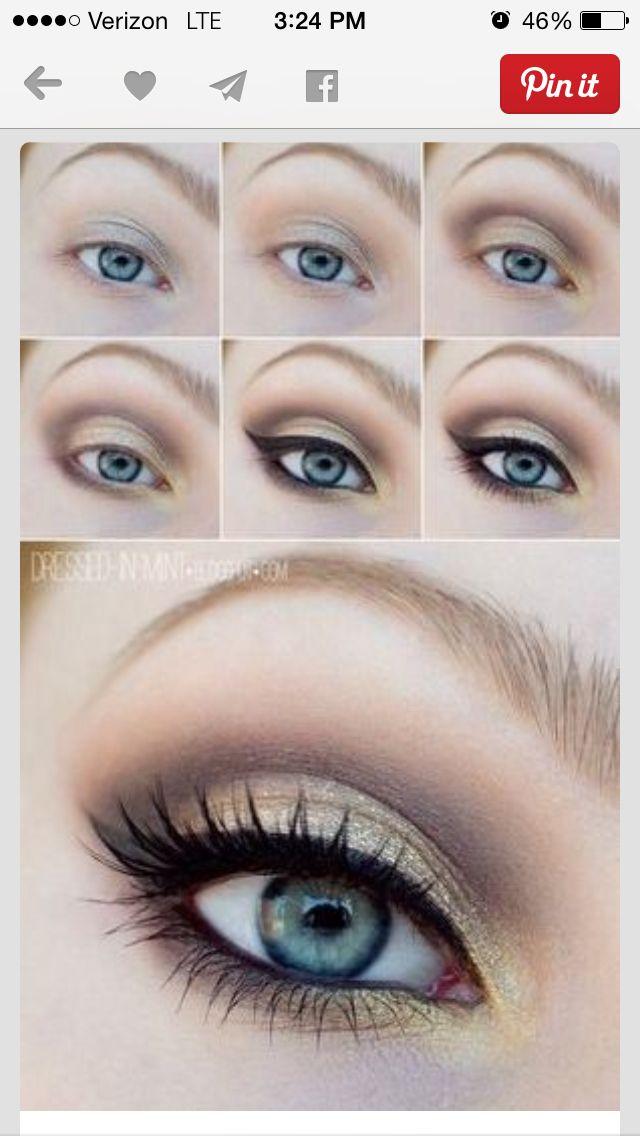 Beautiful eye makeup