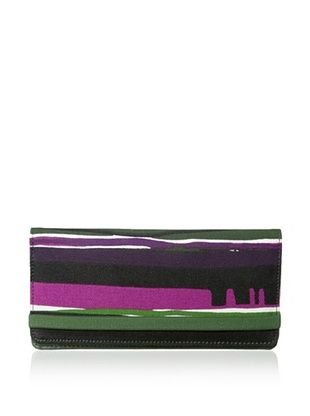44% OFF Kate Spade Saturday Women's Fantastic Elastic Wallet, Sunset Stripe