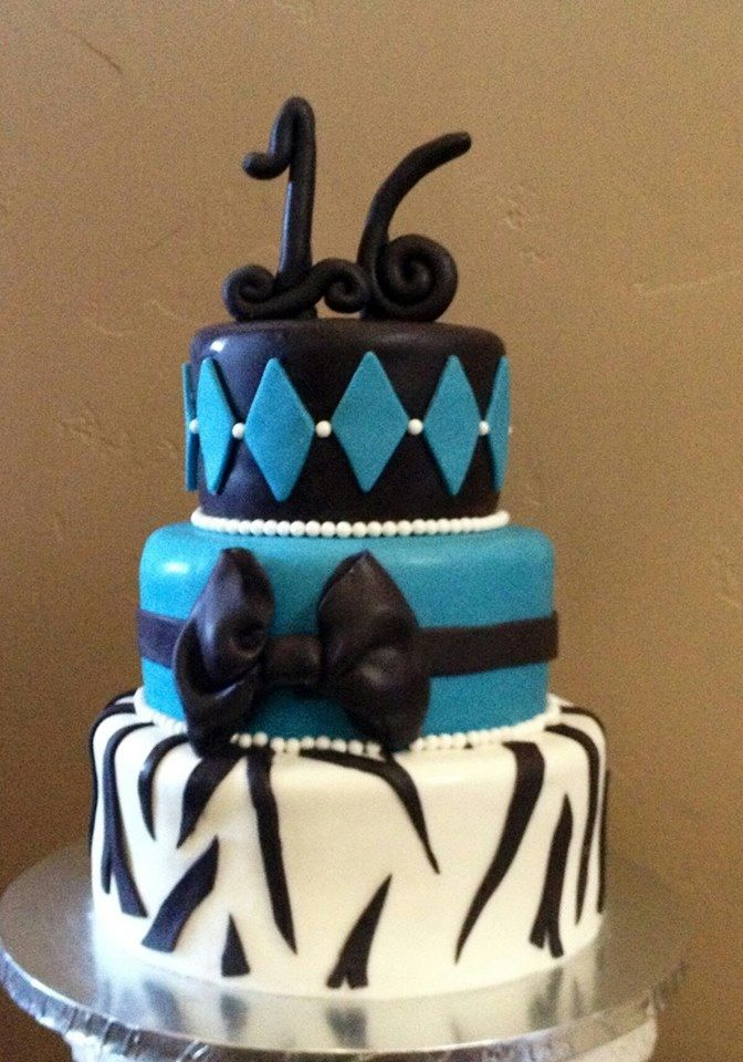 Amazing 16th Birthday Cakes 100 best images about ...