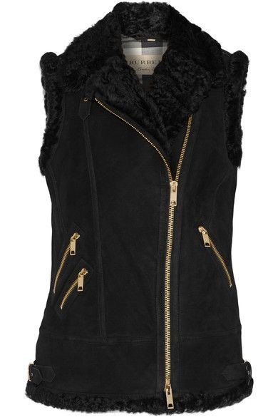 Burberry Brentdale shearling gilet