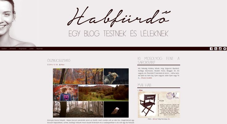 Habfurdo.com #webdesign #blogdesign  - WordPress theme design
