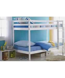Shorty 2ft 6 Bunk Bed Frame White Or Natural