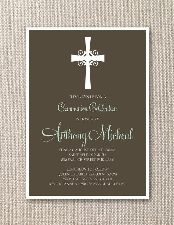 Baptism invitation...do I need these though?