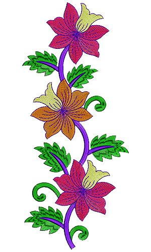 8577 Patch Embroidery Design