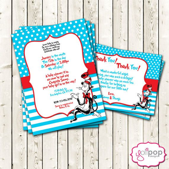 89 Best Images About Dr. Seuss Baby Shower Ideas On