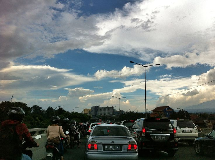 @ the-crowded-traffic-jam a.k.a @ pasteur #flyover #bandung #westjava #indonesia
