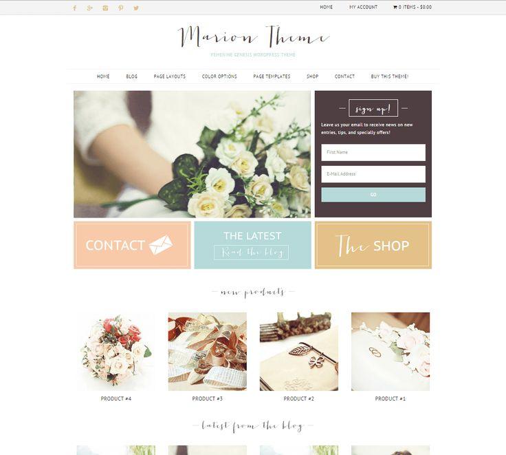 Marion-Feminine Genesis WordPress