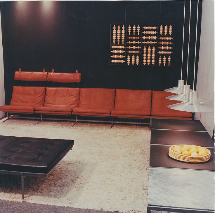 Why be dull? The bo-ex sofa is spectacular in red!