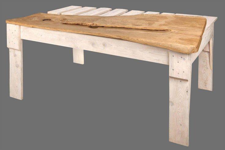 Unikatowe meble z drewna, stół PIANO. Autor: Marek Ruszkiewicz.
