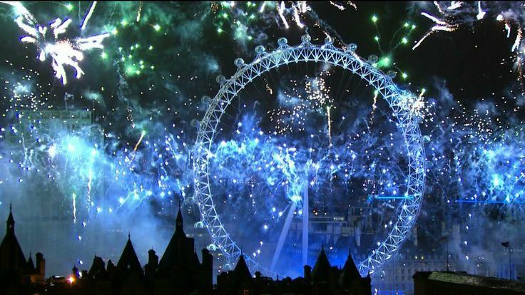 London Fireworks 2014 - New Year's Eve Fireworks - BBC One
