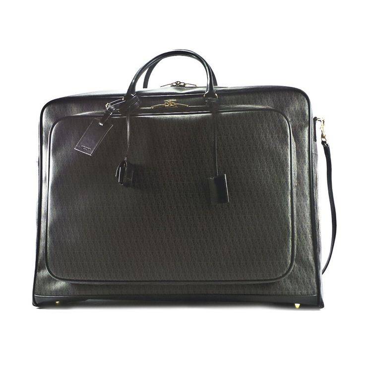 Saint Laurent Men's 343695Git1j1059 Black Leather Briefcase