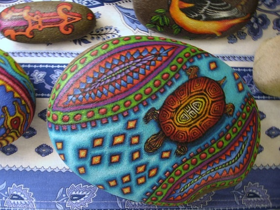 Galets peints - painted rocks
