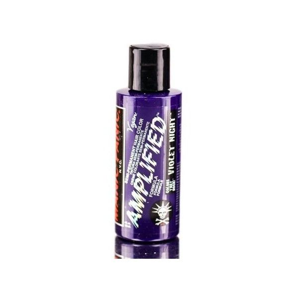 Tish Snooky's Manic Panic Amplified Hair Color Cream (Color Violet... ❤ liked on Polyvore featuring beauty products, haircare and manic panic nyc