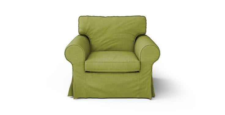 Ektorp Armchair Cover - Beautiful Custom Slipcovers | Comfort Works