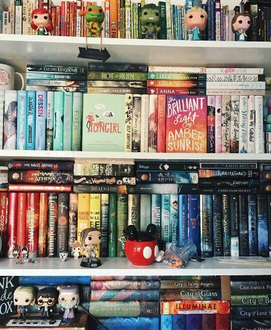 #shelfie by readsleepfangirl
