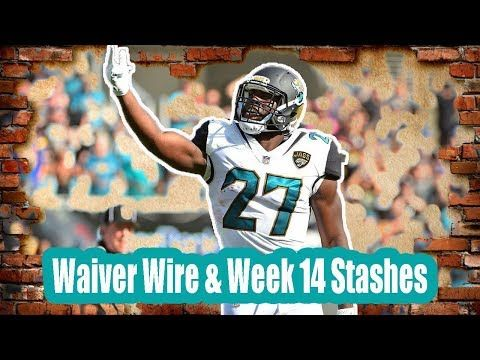 Fantasy Football Podcast 11/28/17 : Waiver Wire & Week 14 Stashes