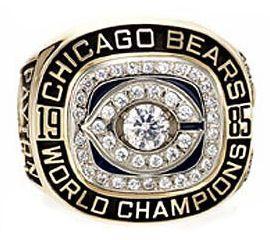 Walter Payton's Super Bowl Ring