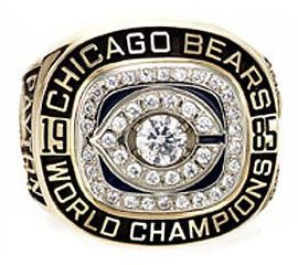 Walter Payton's Super Bowl Ring