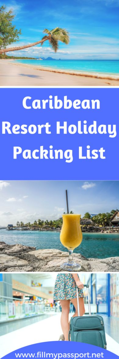 what to Pack for your Luxury Caribbean Resort Holiday! Here is our essential list to get you enjoying your wondeful holiday in the sun. #luxurytravel #sunshinetrip #caribbean