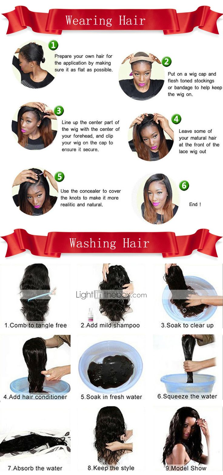 MY latin box store how to wear hair wigs