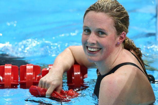 Hannah Miley:  GB swimmer at the London 2012 Olympics