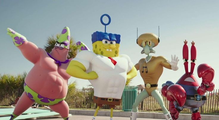 SpongeBob SquarePants Movie: Sponge Out Of Water Trailer Reveals New Look Team #voiceover