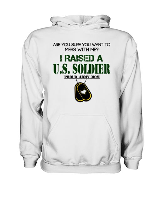 Limited Edition - Proud Army Mom!  what a great gift it would be to have this delivered to me in a size 3XL