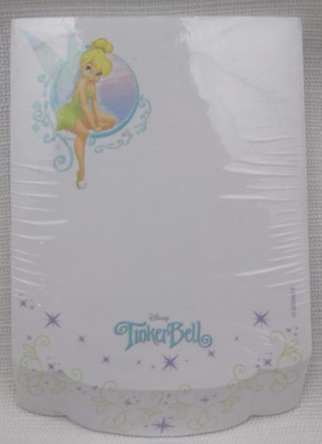 Disney-World-Parks-Tinkerbell-Fairy-Notepad-Notes-Paper-New