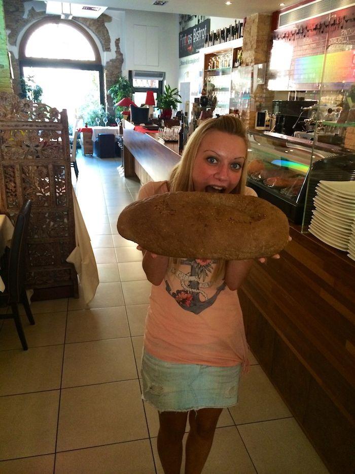 Non si può resistere al pane appena sfornato.. #tentazioniculinarie
