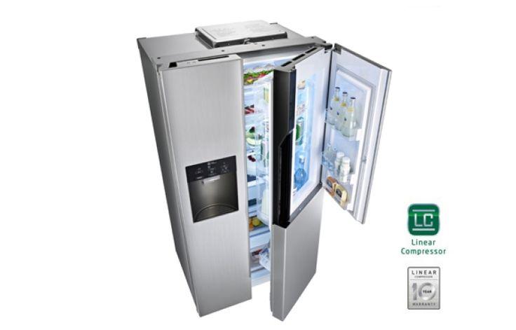 1000 ideas about frigo americain on pinterest plan de. Black Bedroom Furniture Sets. Home Design Ideas